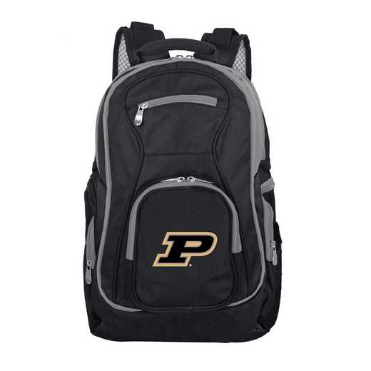 CLPUL708: NCAA Purdue Boilermakers Trim color Laptop Backpack